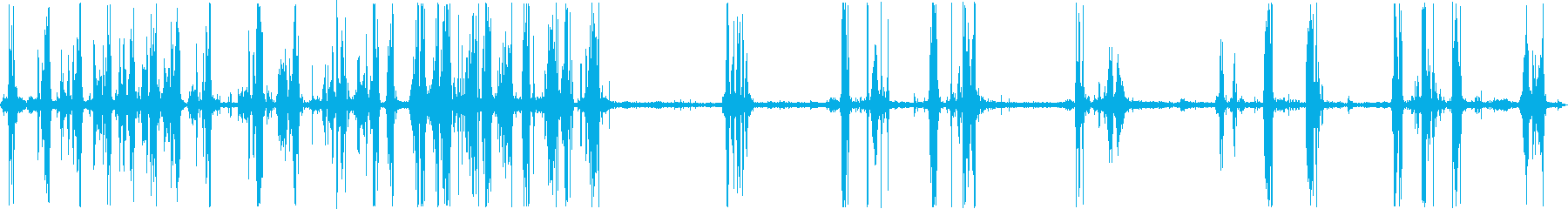 トイレボートフラッシュバブルグルの再生済みの波形