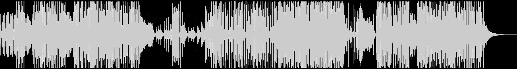 壮大 和風ピアノオーケストラ曲の未再生の波形