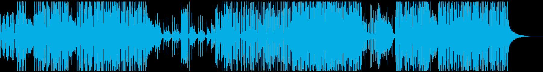 壮大 和風ピアノオーケストラ曲の再生済みの波形