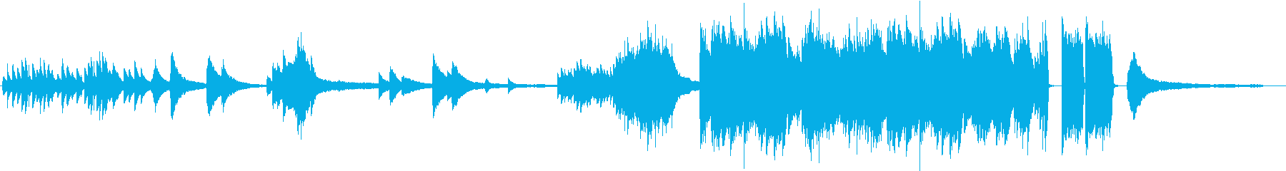 報われないの思い 生ピアノ演奏の再生済みの波形