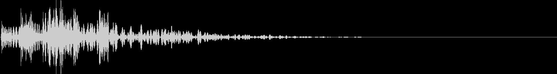 ピュイッボボン(火炎瓶・火炎弾・手榴弾)の未再生の波形
