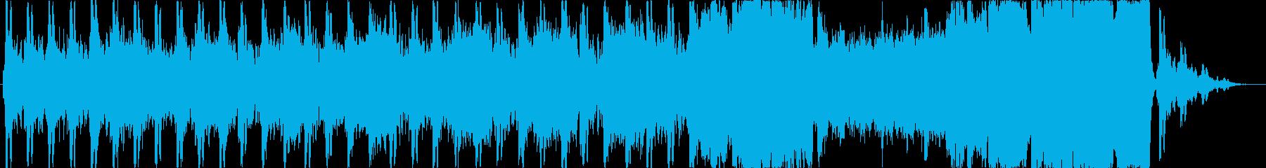 力強い打楽器が特徴 壮大なエピックBGMの再生済みの波形