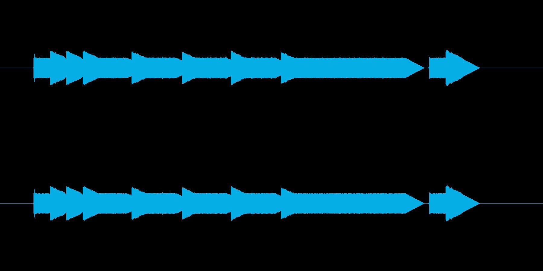 クイズ番組のステージクリア時の音。の再生済みの波形