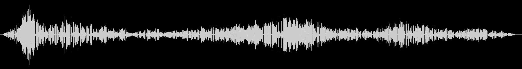 ラーク・バルガー-アロサ・バルガーの未再生の波形
