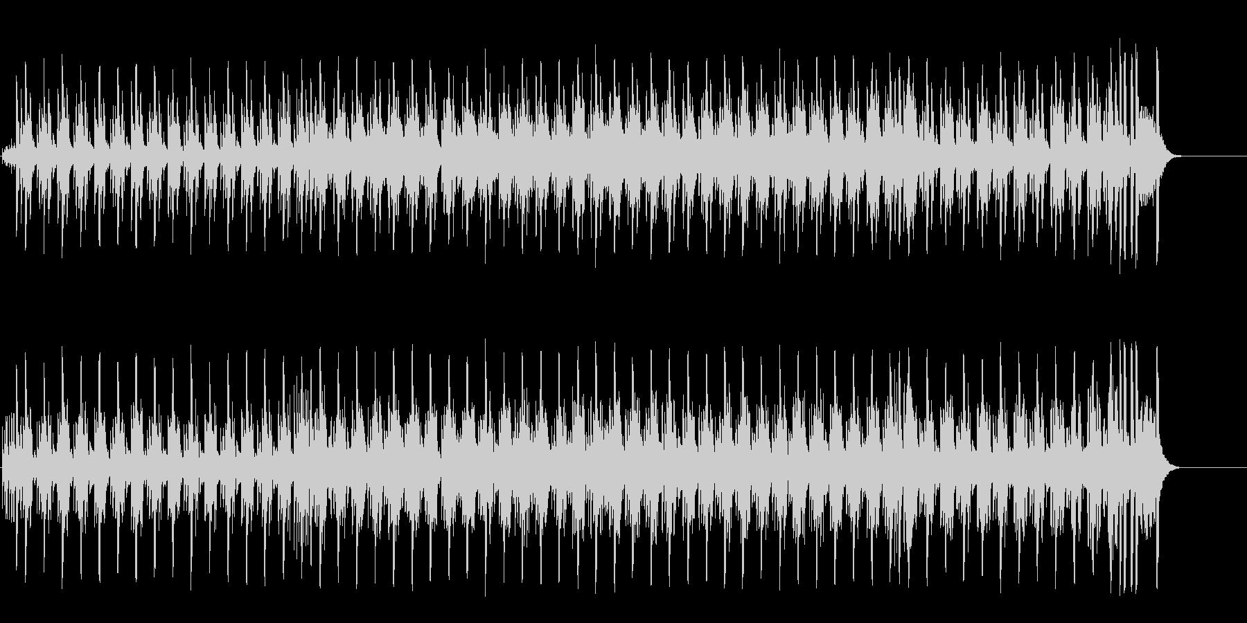 陽気な南国ムードののどかなレゲエポップの未再生の波形