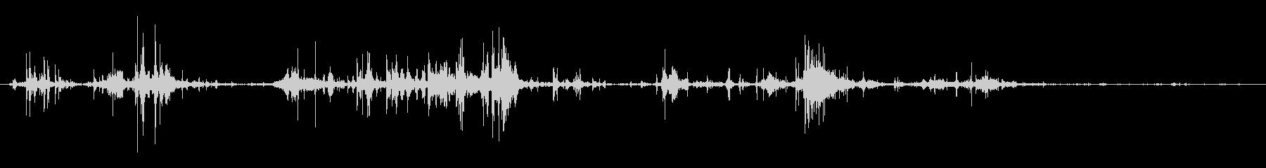 ダートオンファイト:フットムーブメ...の未再生の波形