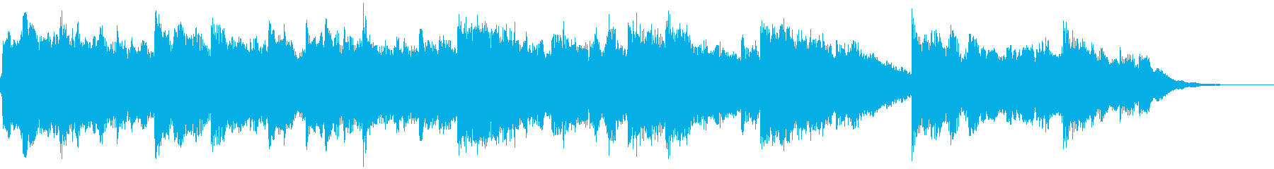 ゆったり エレガント 瞑想 E.ピアノの再生済みの波形