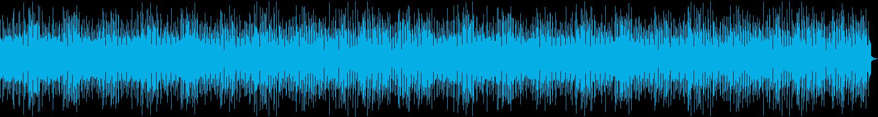 コミカルで楽しい雰囲気の日常系BGMの再生済みの波形