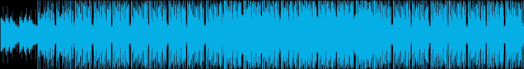 おだやか/シンプル/ループの再生済みの波形
