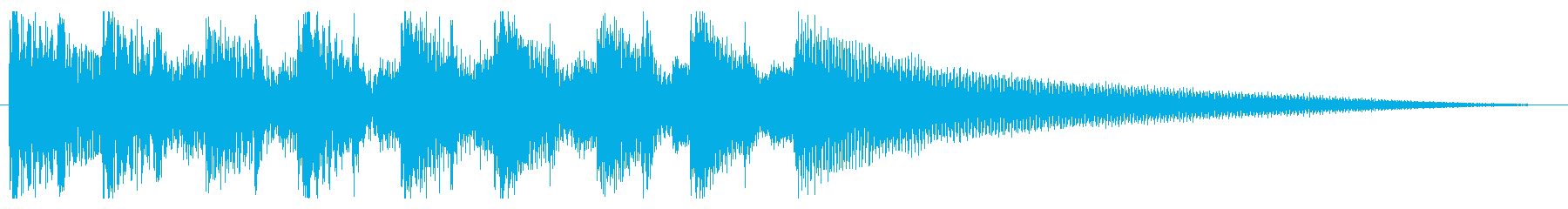 ビジネス・SNS・ジングル・ショート動画の再生済みの波形