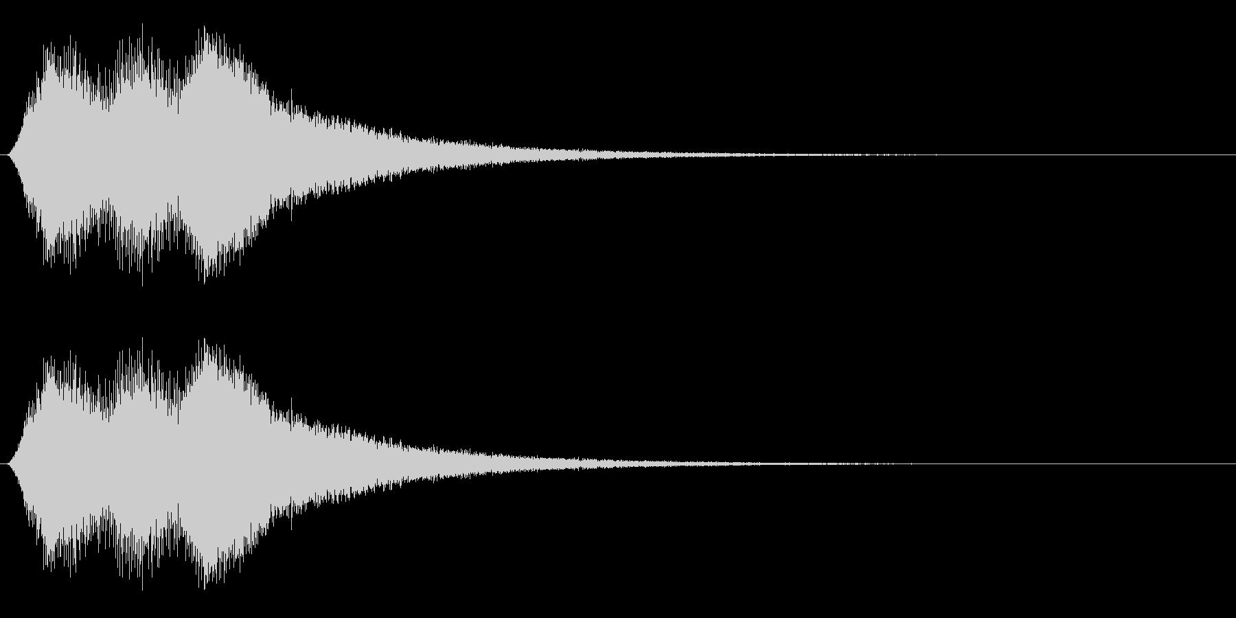場面転換/移動/ワープの未再生の波形