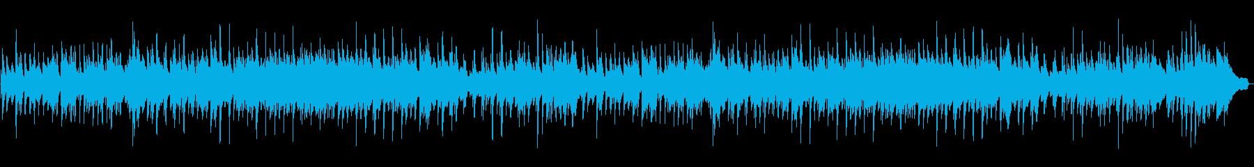 ほのぼのした穏やかなピアノソロの再生済みの波形