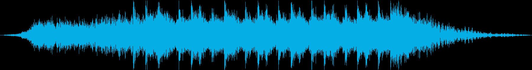 シリアスなストリングス/オープニング系の再生済みの波形