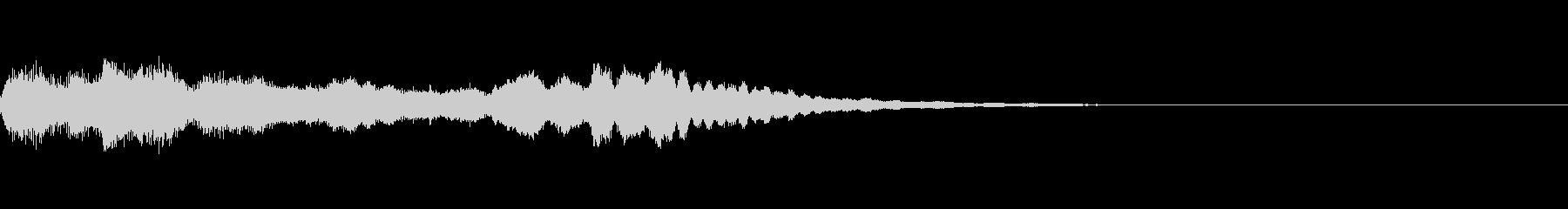 ミステリー系導入音_その13の未再生の波形