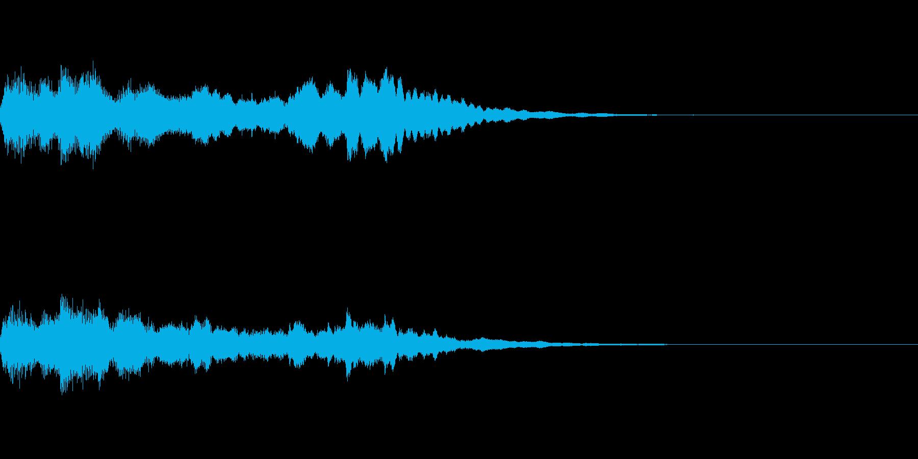 ミステリー系導入音_その13の再生済みの波形
