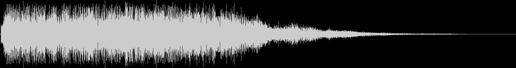 上昇系アルペジオSE (きれい 変身)の未再生の波形