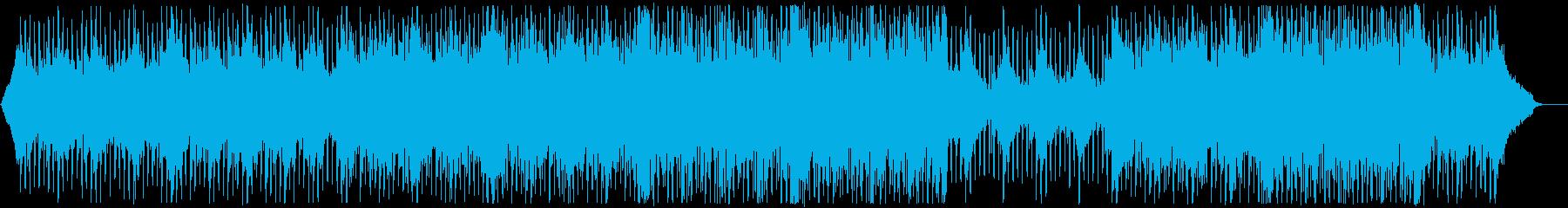 グローバル企業風ピアノ&ギター:メロ無の再生済みの波形