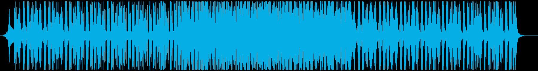 可愛くポップなダンスミュージック(短めの再生済みの波形