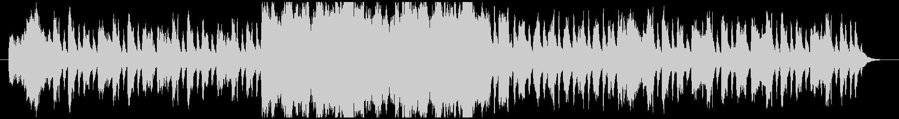 フルートとストリングスの可愛いワルツ曲の未再生の波形