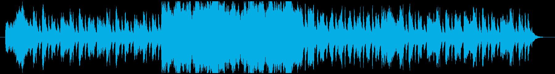 フルートとストリングスの可愛いワルツ曲の再生済みの波形