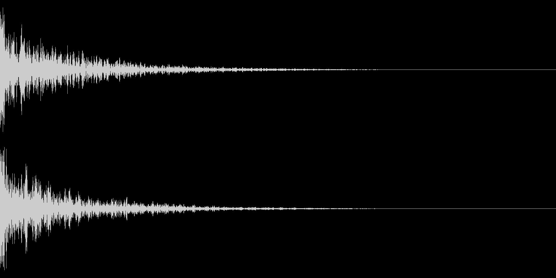 ドーン-09-1(インパクト音)の未再生の波形