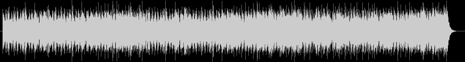 明るいケルトBGMの未再生の波形