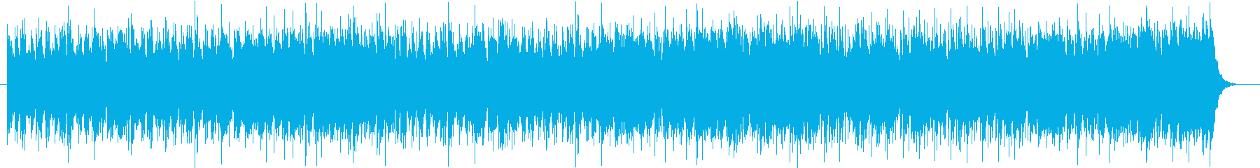 明るいケルトBGMの再生済みの波形