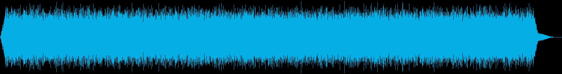 【アンビエント】ドローン_15 実験音の再生済みの波形