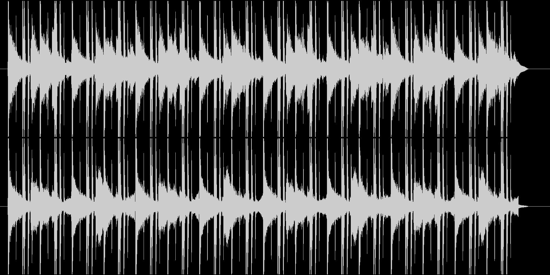 Lo-Fiなゆったりおしゃれ曲の未再生の波形