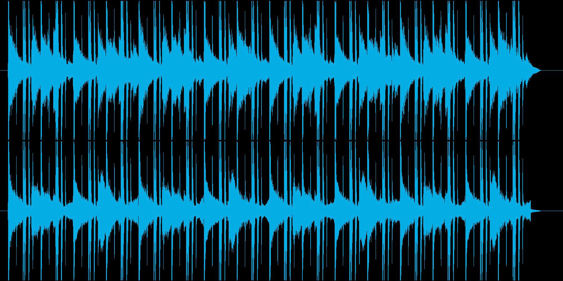 Lo-Fiなゆったりおしゃれ曲の再生済みの波形