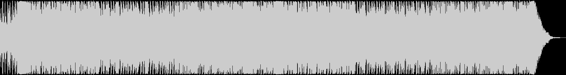 昭和の雰囲気を感じるトランス曲の未再生の波形