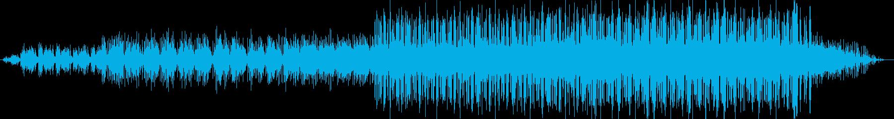ドライブ感のあるミニマルアシッドテクノの再生済みの波形