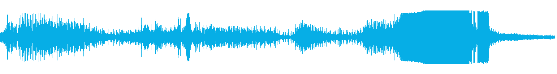 トラクタープルレース回転cの再生済みの波形
