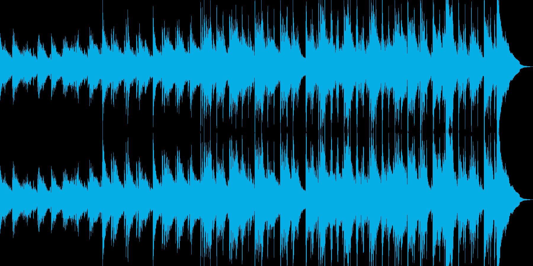 癒し、リラックスするアコギBGMの再生済みの波形