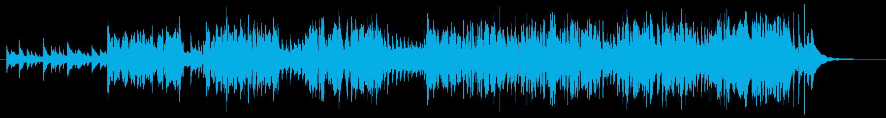 虫のようなオッサンの再生済みの波形