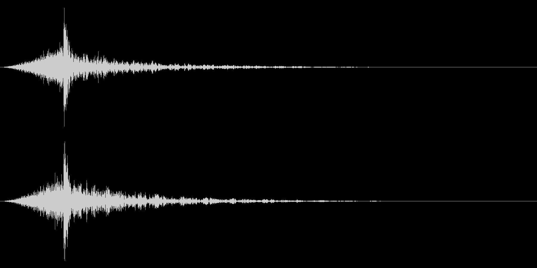 シュードーン-45-4(インパクト音)の未再生の波形