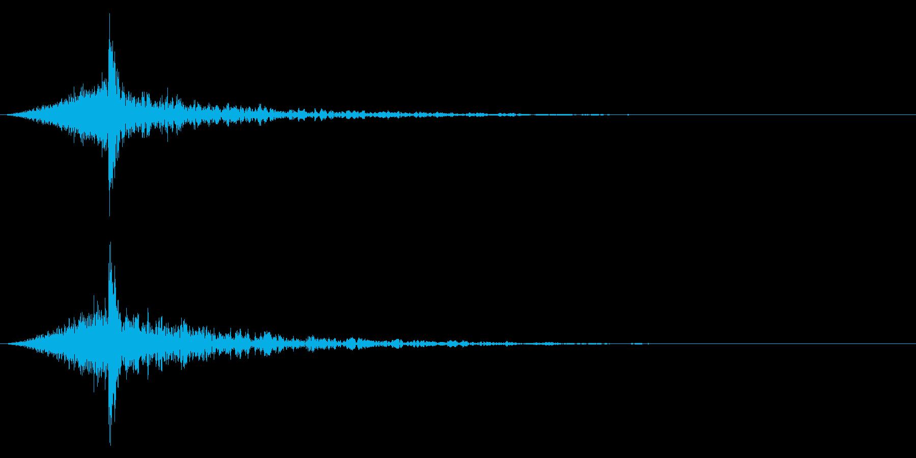 シュードーン-45-4(インパクト音)の再生済みの波形