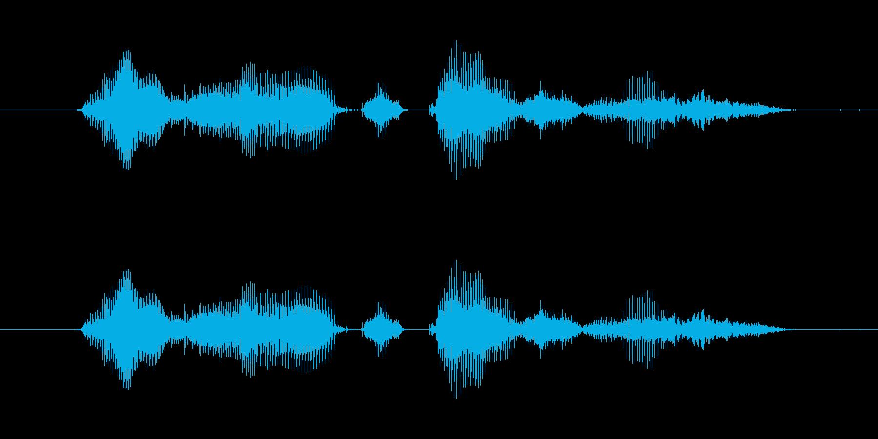 【時報・時間】4時をお伝えしますの再生済みの波形