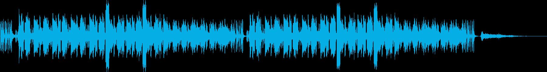 雨とピアノ。ニュース速報とオーケストラ。の再生済みの波形