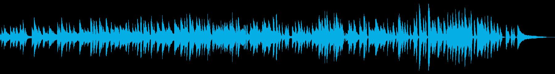 ウキウキ・楽しげ・アニメーション映画風の再生済みの波形