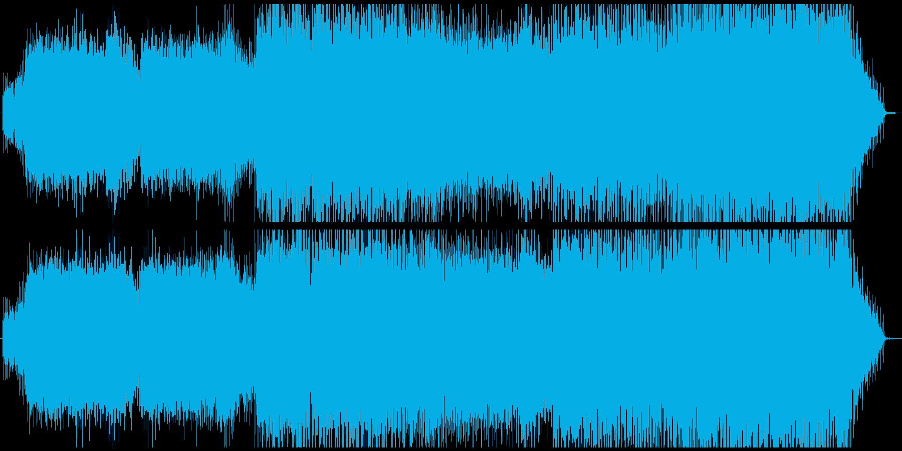 Quarterの再生済みの波形