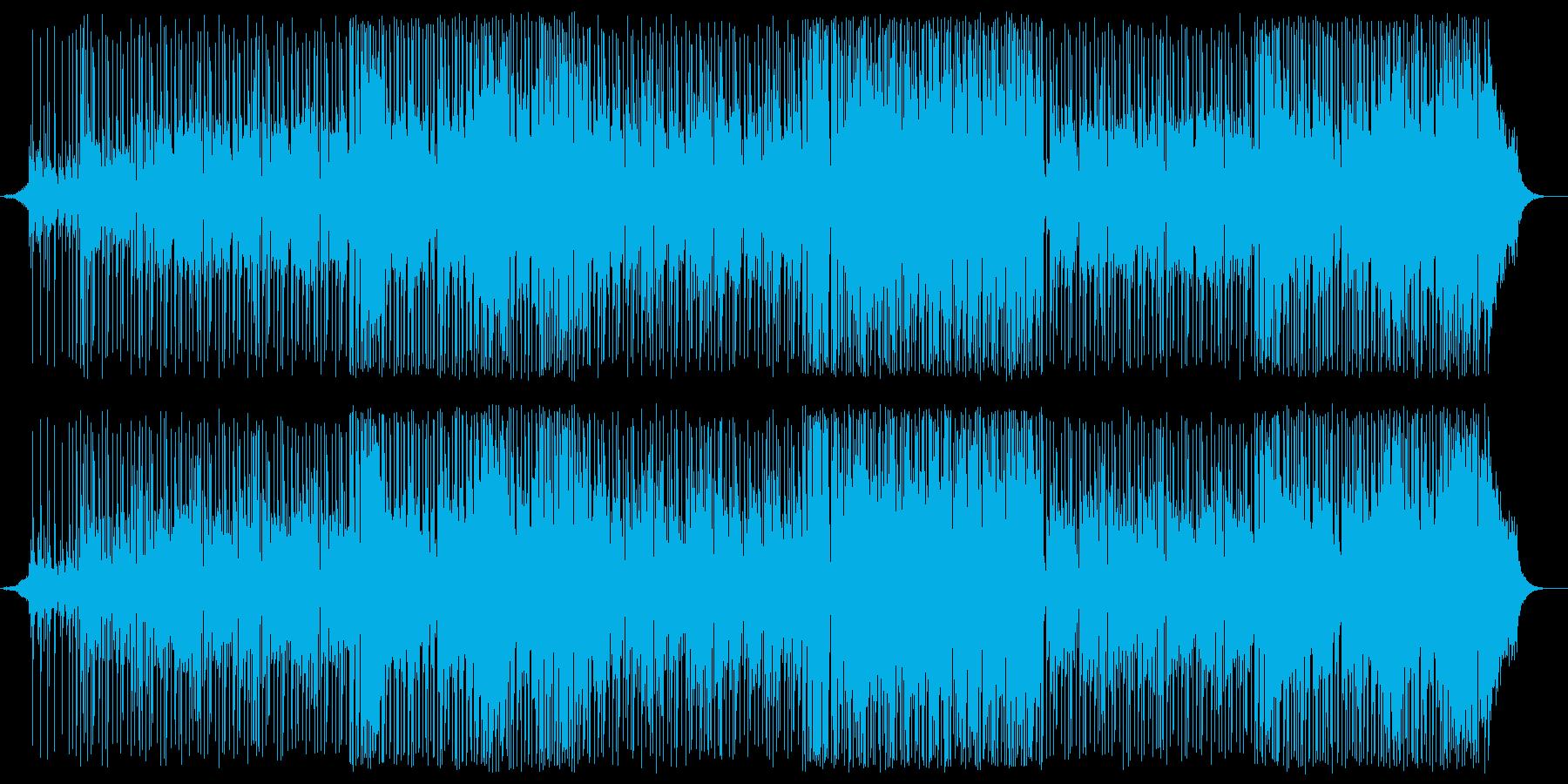 ギターサウンド・フュージョンの再生済みの波形