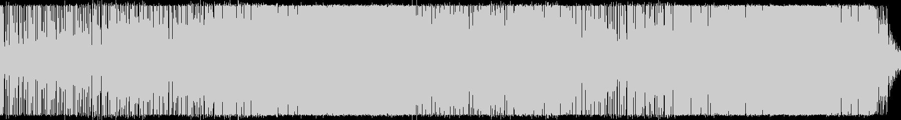 動画 サスペンス 説明的 ハイテク...の未再生の波形