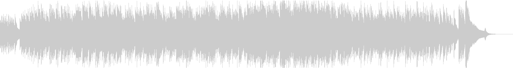 ハープシコードによる爽やかな感じのBGMの未再生の波形