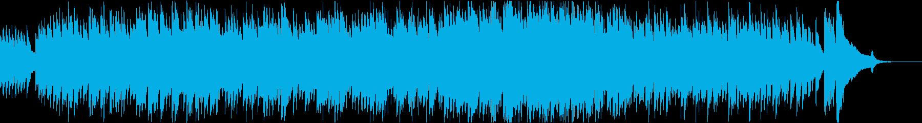ハープシコードによる爽やかな感じのBGMの再生済みの波形