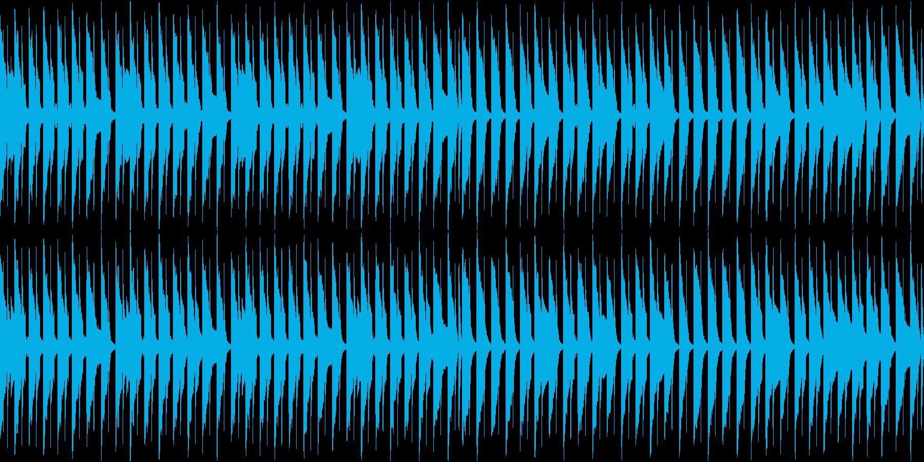 マップ画面・ロボット部屋・ループシンセの再生済みの波形