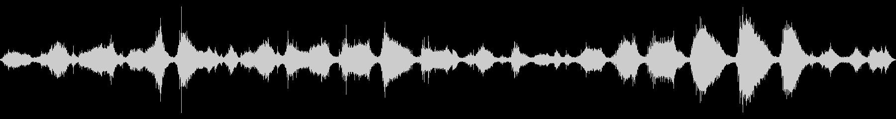 大浜海岸の波の音 5 【徳島】砂利の音の未再生の波形