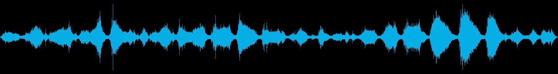 大浜海岸の波の音 5 【徳島】砂利の音の再生済みの波形