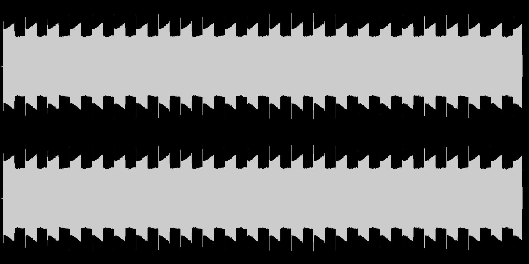 ピヨピヨピヨ(放送禁止ピー音などに)の未再生の波形
