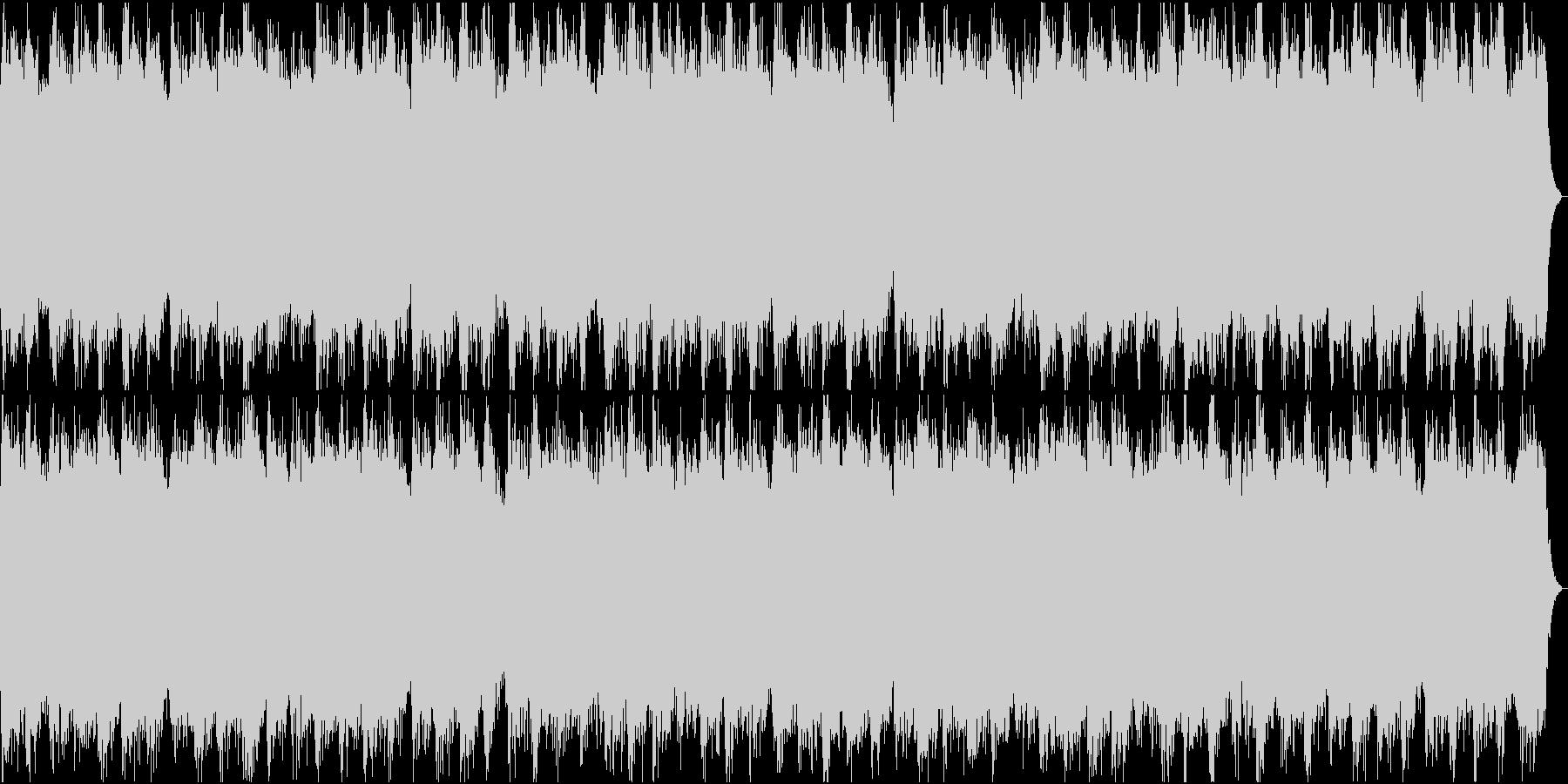 神秘的なリラクゼーション・ドラム無しの未再生の波形